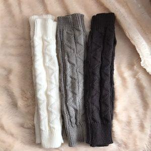 Accessories - Bundle of 3 thumb hole arm/wrist warmers